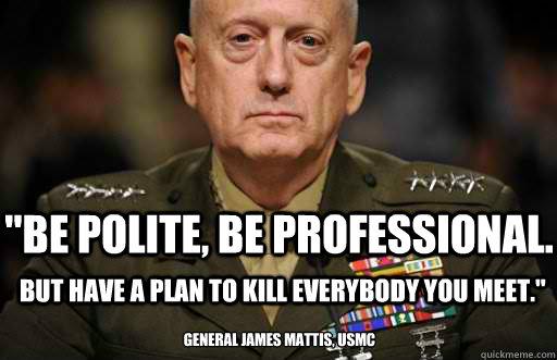 Marine General James Mattis The Warrior Monk Andrew Holt Phd